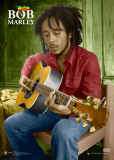 Bob Marley-Guitar-3D Photo