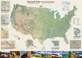 National Geographic United States National Parks Print