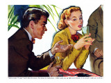 "I Don't Want to Get Married  - Saturday Evening Post ""Leading Ladies"", December 20, 1952 pg.20 Giclee Print by George Englert"