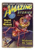 Amazing Stories World Without Women (Robot) Giclee Print