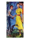 "Miss Carlsen is Mine - Saturday Evening Post ""Leading Ladies"", June 21, 1958 pg.24 Giclee Print by Morgan Kane"