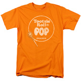 Tootsie Roll Pop - Logo Orange T-Shirt