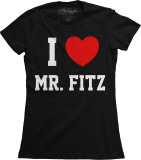 Juniors: Pretty Little Liars - I Heart Mr. Fritz T-shirts