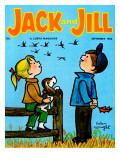 Fall Flight - Jack and Jill, September 1963 Giclee Print by Helen Wright