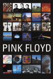 Pink Floyd-Collage Poster
