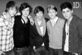 One Direction- B&amp;W Affiches