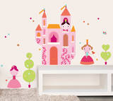 Geraldine Cosneau Princess Wall Stickers Wall Decal