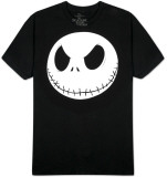 Nightmare Before Christmas - Fat Head T-shirt