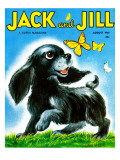 Summer Frolick - Jack and Jill, August 1961 Giclee Print by Irma Wilde