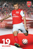 Arsenal-Wilshere Posters