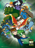 Ben 10-Ultimate Alien-3D Affiches