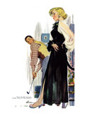 "No Man Around The House  - Saturday Evening Post ""Leading Ladies"", August 13, 1955 pg.31 Giclee Print by Perry Peterson"