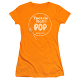 Juniors: Tootsie Roll Pop - Logo Orange Shirts