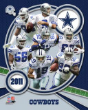 Dallas Cowboys 2011 Team Composite Photographie