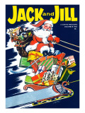 Christmas Flight - Jack and Jill, December 1961 Giclee Print by Charles Grupp