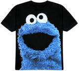 Sesame Street - Big Photo Cookie T-Shirts