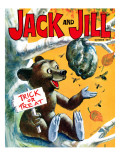 Trouble Brewing! - Jack and Jill, October 1970 Giclee Print by Cal Massey