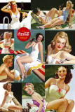 Coca Cola-Girls Affiches