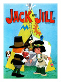 A Beautiful Occasion - Jack and Jill, November 1972 Reproduction procédé giclée par Jack Weaver