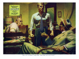 "The Disappearance of Dolan, Pt I, A - Saturday Evening Post ""Men at the Top"", April 12, 1954 pg.19 Giclee Print by James Bingham"