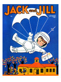 Special Delivery  - Jack and Jill, September 1961 Giclee Print by Becky Krehbiel