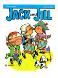 Patriotic Tune - Jack and Jill, July 1964 Giclee Print by Lee de Groot