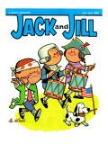 Patriotic Tune - Jack and Jill, July 1964 Giclee Print by Lee de Groot
