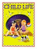 Summer Fun - Child Life, August 1935 Giclee Print by Janet Laura Scott