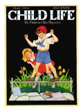 Showing Off   - Child Life, May 1931 Giclee Print by Hazel Frazee