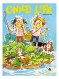 The Catch - Child Life, June 1972 Giclee Print by Ruth VanSciver