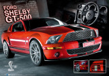 Mustang-GT 500-3D Posters