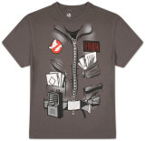 Ghostbusters - Wavy Lines Costume Tee Vêtement