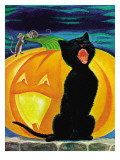 Cat's Meow - Child Life, October 1971 Giclee Print by Dorothy Forsyth