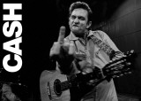 Johnny Cash-San Quentin ポスター