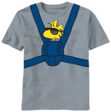 Peanuts - Woodstock Carrier Camisetas