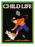 Runaway Kite - Child Life, March 1933 Giclee Print by Clarence Biers