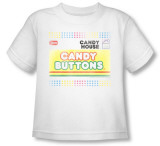 Toddler: Necco - Candy Buttons T-Shirt