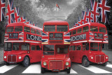 London-Palace Buses Prints