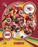 Kansas City Chiefs 2011 Team Composite Fotografía