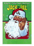 Hello Santa - Jack and Jill, December 1978 Giclee Print by Robert Chronister
