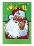 Hello Santa - Jack and Jill, December 1978 Giclee Print by Robert Chronister