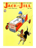 Matchbox Race - Jack and Jill, July 1958 Giclee Print by IBJ 
