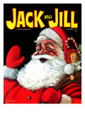 Santa's Bag of Toys - Jack and Jill, December 1967 Giclee Print by  Lesnak