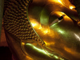 Bangkok, Thailand; the Reclining Buddha in Wat Pho Photographic Print by Dan Bannister