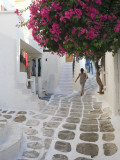 Greece, Cyclades, Mykonos, Mykonos Town Photographic Print by Michele Falzone