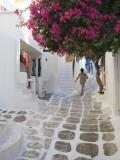 Greece, Cyclades, Mykonos, Mykonos Town Photographic Print by Michele Falzone