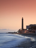 Canary Islands, Gran Canaria, Maspalomas, Faro De Maspalomas (Maspalomas Lighthouse) Photographic Print by Michele Falzone