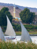 Egypt, Upper Egypt, Aswan, River Nile Photographic Print by Alan Copson
