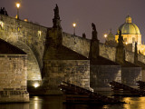 View of Charles Bridge, Prague, Czech Republic Photographic Print by Carlos Sanchez Pereyra