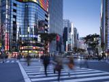 Sukiyabashi Crossing, Ginza, Tokyo, Japan Photographic Print by Jon Arnold